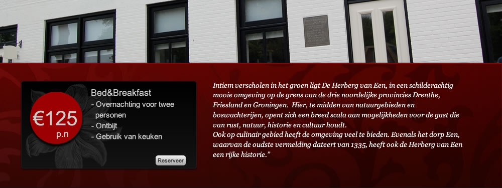Bed & Breakfast Drenthe